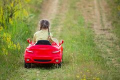 Child car Royalty Free Stock Photos