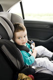 Child in car seat Royalty Free Stock Photos