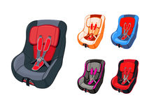 Child car seat Stock Image