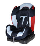 Child car seat and safety. Child stock photo