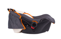 Child car seat side view. Stock Images