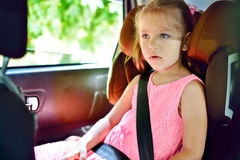 Child in car Stock Photos