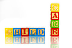 Child care Royalty Free Stock Image