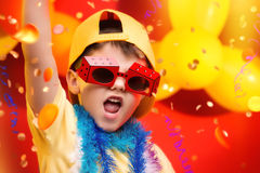 Child Carnival - Brazil Royalty Free Stock Image