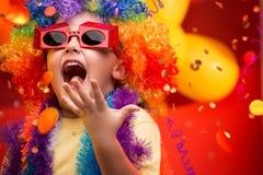 Child Carnival - Brazil. Child having fun at Carnival in Brazil royalty free stock photos