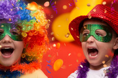 Child Carnival - Brazil Royalty Free Stock Photos