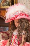 Child in carnival costume Stock Images