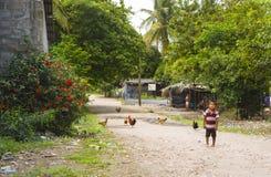Child in Cedeno Honduras Stock Image