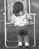 Child and Chair royalty free stock photos