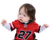 Child cheering Stock Image