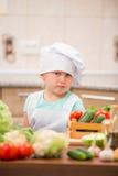 Child chef Royalty Free Stock Photos