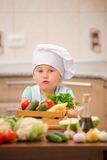Child chef Stock Photos