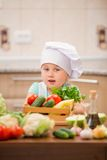 Child chef Royalty Free Stock Photos