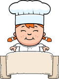 Child Chef Sign Royalty Free Stock Image