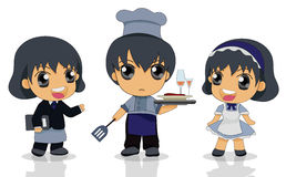 Child chef Royalty Free Stock Images