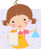 Child in a Chem Lab Royalty Free Stock Photo
