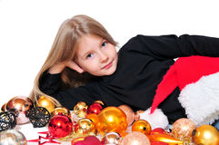 Child Christmas Royalty Free Stock Photo