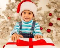 Child Christmas celebration Royalty Free Stock Image