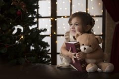 The child Christmas Royalty Free Stock Image