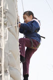 Child climb Stock Images
