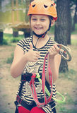 Child climber Stock Image