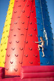 Child climbing Stock Photo