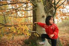 Child climbing Stock Image