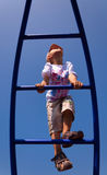 Child climbs up Royalty Free Stock Photo