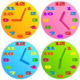 Child clock Stock Photos