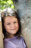 Child close to  nature Royalty Free Stock Images