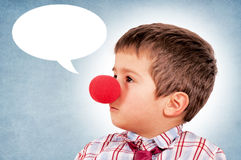 Child Clown Stock Photography