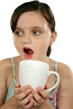 Child With Coffee Mug 1 Royalty Free Stock Image