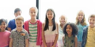 Child Companionship Diversity Ethnicity Unity Concept Stock Images