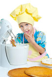 Child cook Stock Image