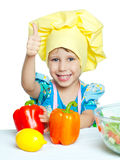 Child cook Royalty Free Stock Photos