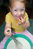 Child cooking. Stock Photo