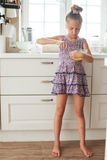 Child cooking Royalty Free Stock Photography