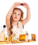 Child cosmetics. Royalty Free Stock Photography