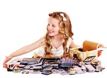 Child cosmetics. Stock Photo