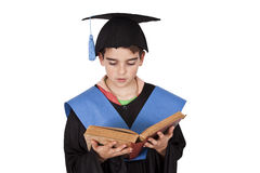 Child costume school graduation Stock Photo