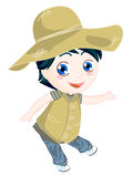 Child in country stock photos