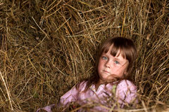 Child in countryside Stock Photos