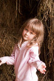 Child in countryside Royalty Free Stock Photo