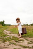 Child in countryside Royalty Free Stock Photography