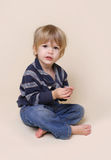 Child with Crafts and Arts Stock Photography