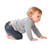 Child crawl Stock Image