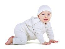 Child  crawls Stock Photos