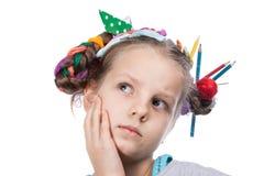 Child and creativity, development Stock Photos