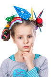 Child and creativity, development Royalty Free Stock Image