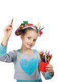 Child and creativity, development Royalty Free Stock Photo